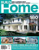 Front Cover of NSW and QLD Best Project Homes Magazine - 112