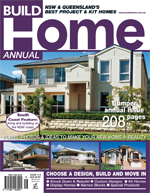 Front Cover of NSW and QLD Best Project Homes Magazine - 114