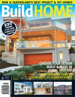 Front Cover of NSW and QLD Best Project Homes Magazine - 133
