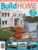 Front Cover of NSW and QLD Best Project Homes Magazine - 134