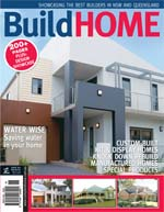 Front Cover of NSW and QLD Best Project Homes Magazine - 142