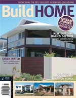 Front Cover of NSW and QLD Best Project Homes Magazine - 143