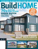 Front Cover of NSW and QLD Best Project Homes Magazine - 144