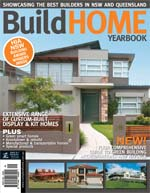 Front Cover of NSW and QLD Best Project Homes Magazine - 151