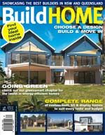 Front Cover of NSW and QLD Best Project Homes Magazine - 152
