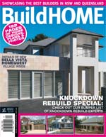 Front Cover of NSW and QLD Best Project Homes Magazine - 153