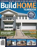 Front Cover of NSW and QLD Best Project Homes Magazine - 161