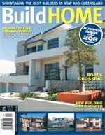 Front Cover of NSW and QLD Best Project Homes Magazine - 162