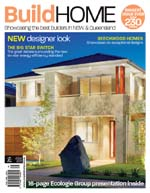 Front Cover of NSW and QLD Best Project Homes Magazine - 163