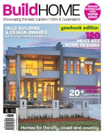 Front Cover of NSW and QLD Best Project Homes Magazine - 164