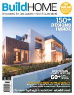 Front Cover of NSW and QLD Best Project Homes Magazine - 171