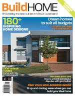 Front Cover of NSW and QLD Best Project Homes Magazine - 181