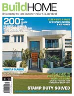 Front Cover of NSW and QLD Best Project Homes Magazine - 183