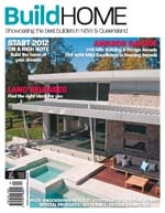 Front Cover of NSW and QLD Best Project Homes Magazine - 184