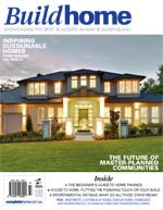 Front Cover of NSW and QLD Best Project Homes Magazine - 193
