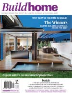 Front Cover of NSW and QLD Best Project Homes Magazine - 201