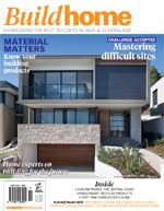 Front Cover of NSW and QLD Best Project Homes Magazine - 203