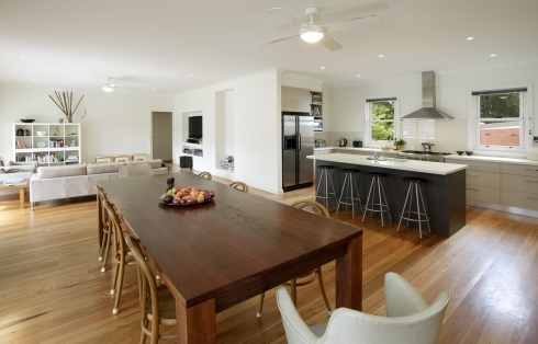 Woodland kitchen/dining
